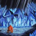 DK in a crystal cave