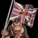 DK With UK Flag
