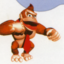 DK pounding his chest
