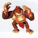 DK covers his head